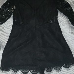 KEEPSAKE the Label Other - NWT Keepsake The Label black lace romper